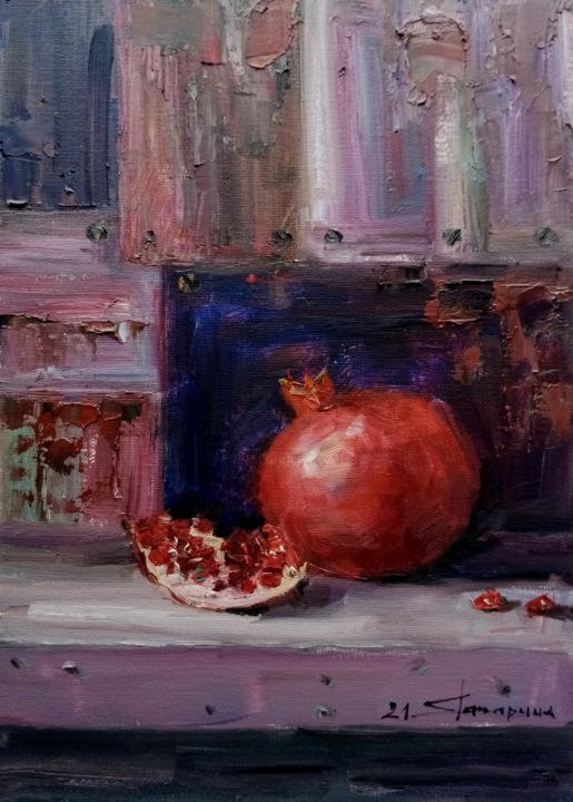 """Painting titled """"Акценты"""" by Елена Гагарина, Original Art, Oil"""
