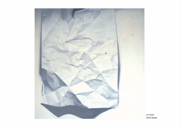 """Painting titled """"Paper Mortal 1"""" by Chen Yun Xiao, Original Art,"""