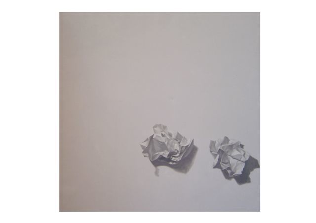 """Painting titled """"Paper Mortal 6"""" by Chen Yun Xiao, Original Art,"""