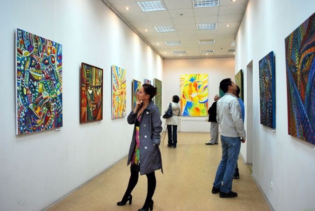 Solo exhibition - Ufa, august 2009 - Events / Personal Photos, ©2009 by Vladimir Zagitov -
