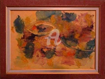 Nature morte - Painting ©2002 by Zahia -