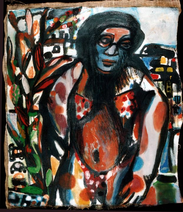 """Painting titled """"Do you know any che…"""" by Koki, Original Art, Acrylic"""
