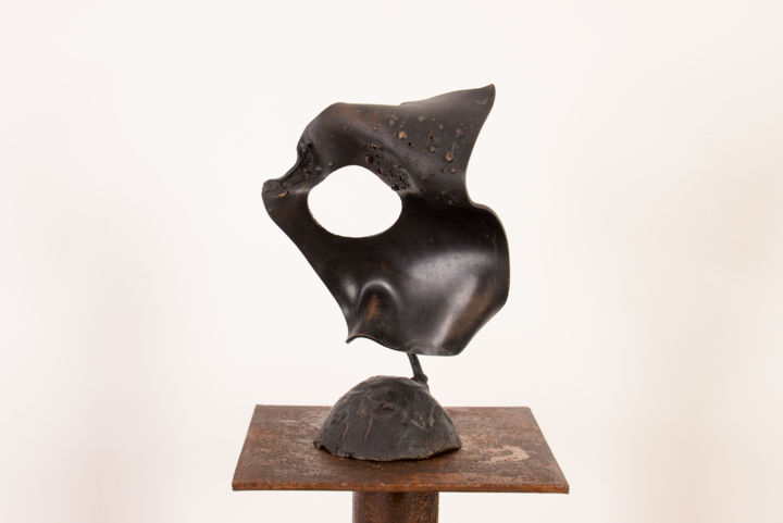 Elément - Sculpture,  4.9x7.5 in, ©2015 by Antonio Zamariola -                                                                                                                                                                                                                          Abstract, abstract-570, Bronze, Abstract Art
