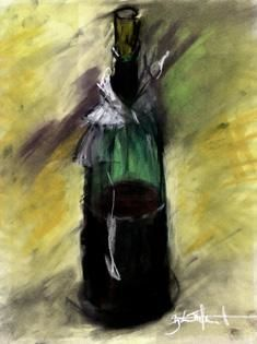 """Painting titled """"BOTTLE, Preview Tru…"""" by Zbych Trofimiuk, Original Art,"""