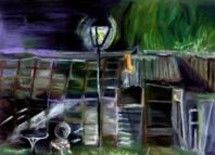 """Painting titled """"GLASSHOUSE, Preview…"""" by Zbych Trofimiuk, Original Art,"""