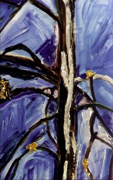 """Painting titled """"LINDEN TREE, detail…"""" by Zbych Trofimiuk, Original Art,"""