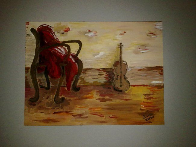 """Painting titled """"Stand"""" by Ziva, Original Art,"""