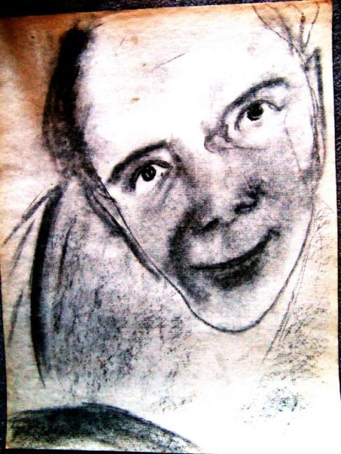 """Drawing titled """"Face"""" by Zo, Original Art, Other"""