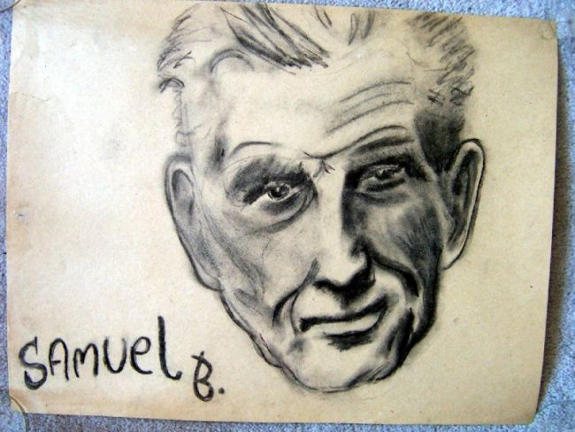 """Drawing titled """"Samuel B."""" by Zo, Original Art, Other"""