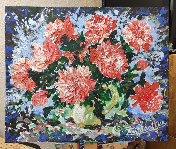 """Painting titled """"Pioneers for you, P…"""" by Artzoia  Zoia Vlascitkaia, Original Art, Acrylic"""