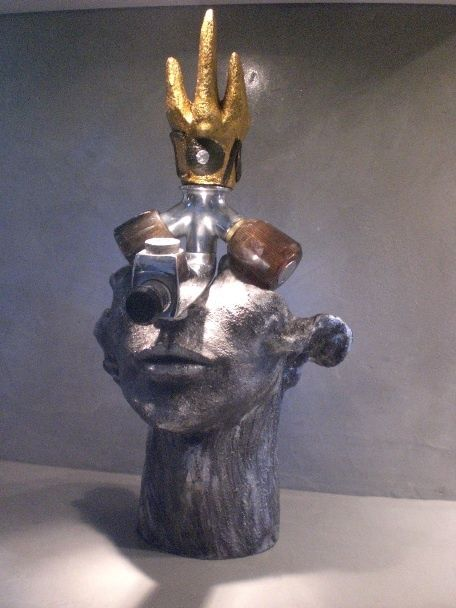 Le Roi dec - Sculpture, ©2012 by Zou.Sculpture -