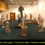 Media Soldier 2 -The Evolutive Watch-installation by ffmendoza