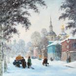 """Painting titled """"The Great Ustyug. S…"""" by Alexander Alexandrovsky, Original Art,"""
