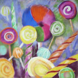 Gourmandise au pastel by Claudette Allosio