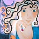 """Painting titled """"Die erste Liebe"""" by Maria Voican, Original Art, Acrylic"""