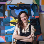 Natalia Ostapenko, a touch of abstraction in figuration