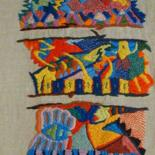 Broderies art textile by Anne Guerrant