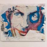 """Collages titled """"marcel"""" by Antoine Maume, Original Art, Collages Mounted on Stretcher frame"""