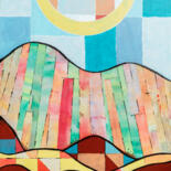 decorative abstract and contemporary landscape by Ariadna De Raadt
