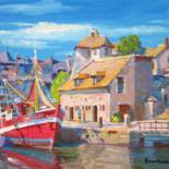 Normandy, France by Marc Forestier by Art Impressionniste