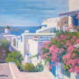 Greece, by Marc Forestier by Art Impressionniste