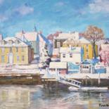New England by Marc Forestier by Art Impressionniste