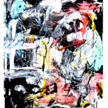 """Painting titled """"barbeau"""" by Guy Bailey, Original Art, Acrylic"""