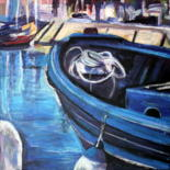 Boats. Bateaux. by Nathalia Chipilova (Atelier NN art store)