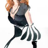 FASHION ILLUSTRATION by Sylvia Baldeva