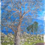 """Painting titled """"Tree Dance"""" by Bhagvati Nath, Original Art, Other"""