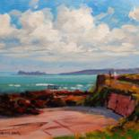 Around Dublin Bay.  (All Originals Sold ) Prints Available by Bill O'Brien