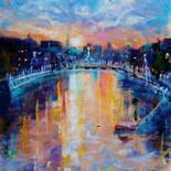 The Ha'penny Bridge (Originals Sold Out. Prints available.) by Bill O'Brien