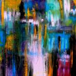 Painting, acrylic, abstract, artwork by Carla Sá Fernandes