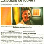 Exposition collection de couleurs