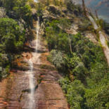 """Photography titled """"waterval"""" by Chris Van Moorsel, Original Art, Digital Photography"""