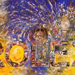 """Painting titled """"ROLEX 1"""" by Christiane Guerry (C.B.GUERRY), Original Art, Collages"""