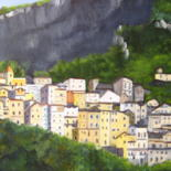 Saorges  alpes maritimes by Christine Chevieux