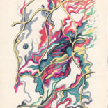 Drawing, marker, abstract, artwork by Alexander Kobyzev