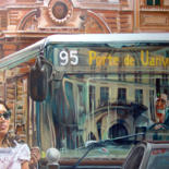 Paris, vu dans les bus by Dominique Cros