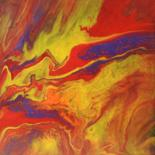 11.8x11.8 in © by DS Abstract Art paintings