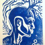 Linogravure by EDITH DONC