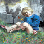 Street painting by Edith Donc