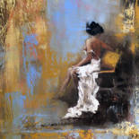 Painting, oil, expressionism, artwork by Elizabeth Williams