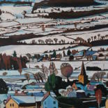 """Painting titled """"Cric in the Snow (C…"""" by Emma Cownie, Original Art, Oil"""
