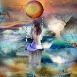 "Reverie "" Le monde imaginaire est infini"" by Christine"