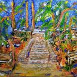Painting, acrylic, impressionism, artwork by Paulo Fontes