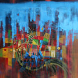 """Painting titled """"Strange ! indeed..."""" by Michel Maréchal, Original Art,"""
