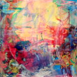 Painting, abstract, artwork by Veronica Stewart