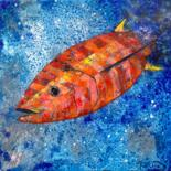 Fish paintings by Françoise Dagorn