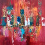 Abstract paintings by Françoise Dagorn